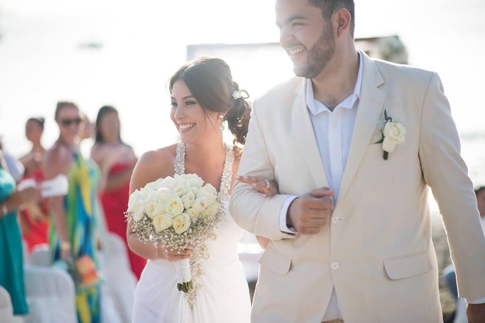 boda milenials en la playa