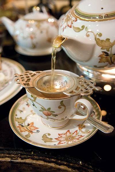 Tomar té correctamente