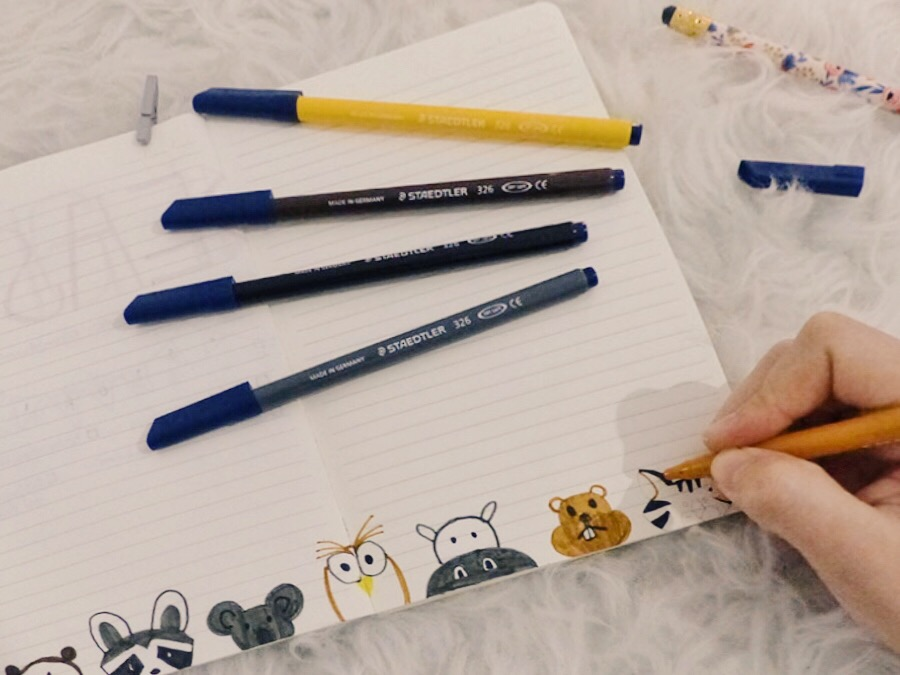 bullet journal animals