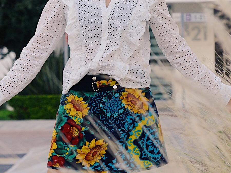 faldas reversibles