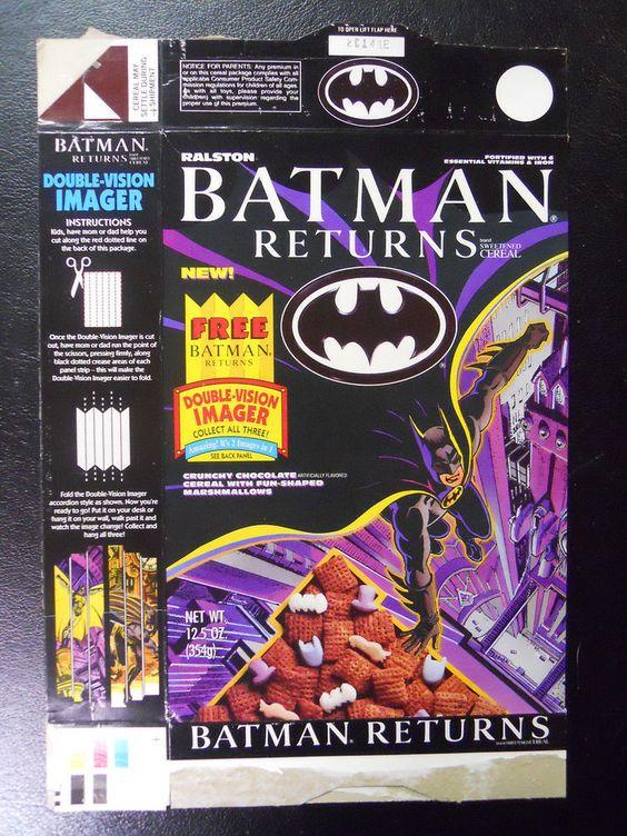 Batman Returns cereales