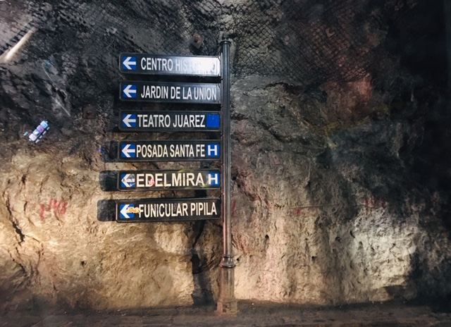 túneles Guanajuato