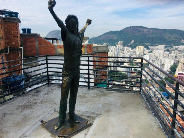 Favela Santa Marta Michael Jackson