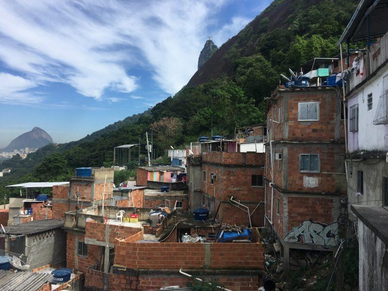 Favelas de Santa Marta Rio Janeiro
