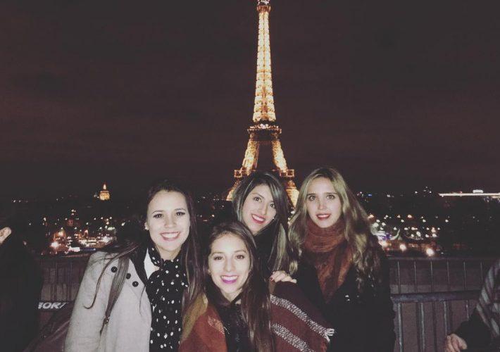 Disfruté mucho mis 20's acompañados de viajes con mis amigas